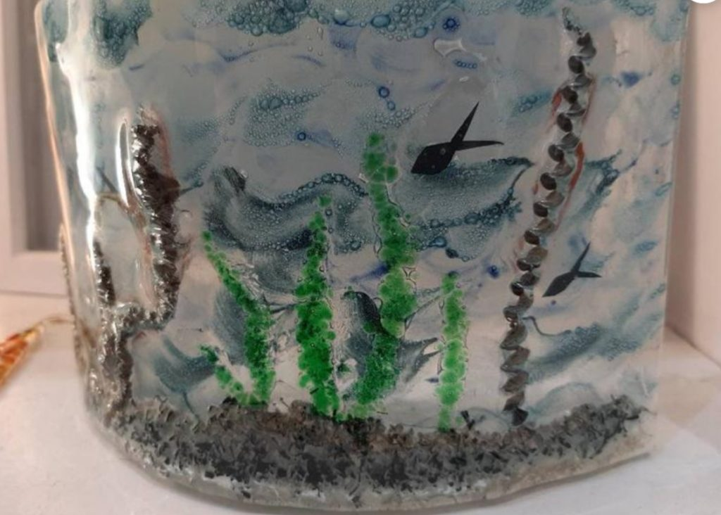 Fused glass by Cerwyn's Creative Waves