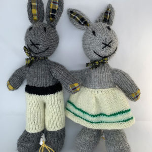 Mr or Mrs Bunny with Cornish National Tartan